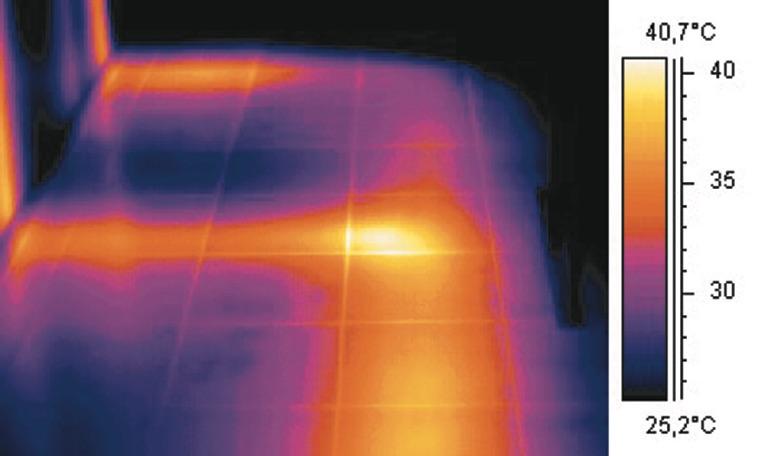 Termografia Edile - Applicazioni : trovare le perdite negli impianti di riscaldamento
