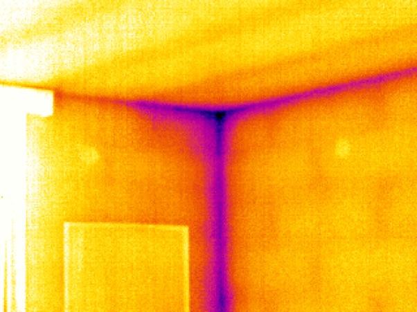 Termografia edile - Applicazioni: individuare i ponti termici