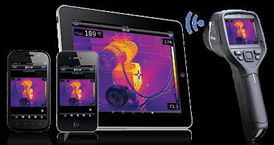 Termocamera FLIR E50bx in offerta, con connettività wifi
