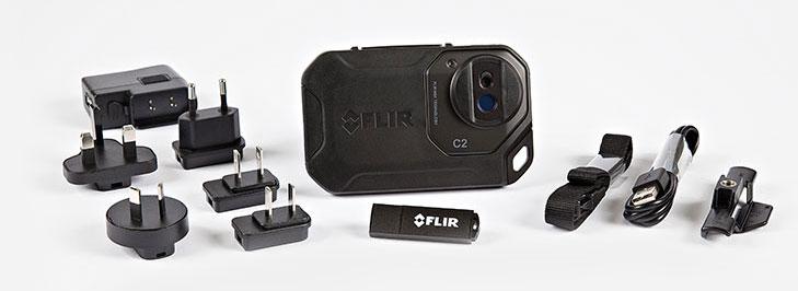 Termocamera FLIR C2 contenuto della confezione