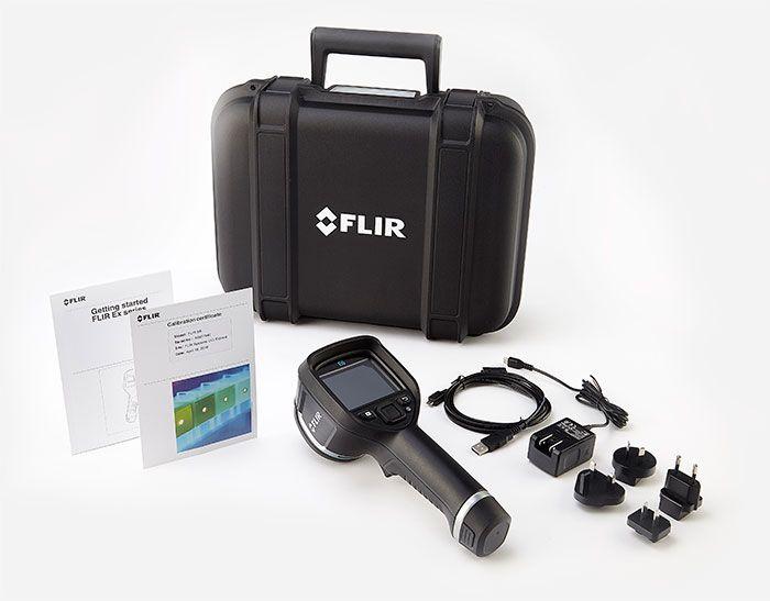 Termocamera FLIR E6 contenuto della confezione