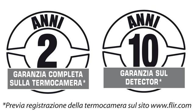 Garanzia termocamere FLIR