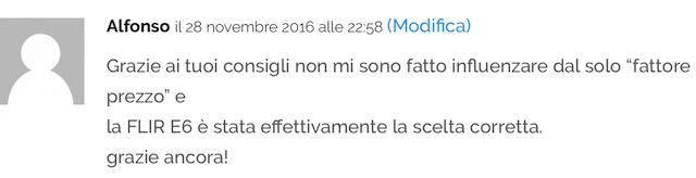 Opinioni Termocamere FLIR - E6
