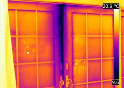 FLIR Exx - termografia infiltrazioni d'aria