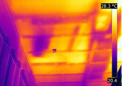 FLIR Exx - termografia solaio