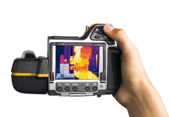 Termocamera usata FLIR flir B250 big img
