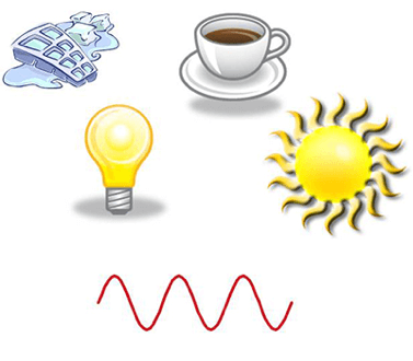 Termografia calore e luce visibile