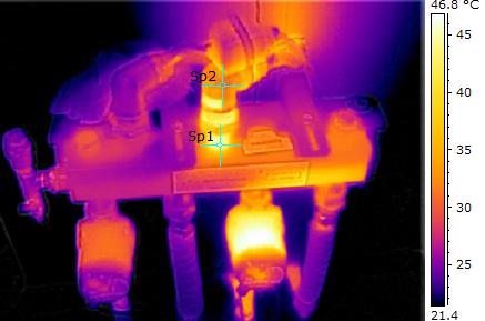 Termocamera FLIR E8 La termografia come tecnica per rilevare difetti negli impianti radianti