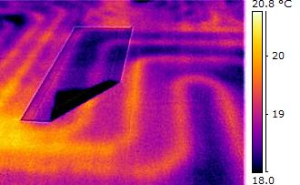 Termocamera FLIR E8:La termografia come tecnica per rilevare difetti negli impianti radianti