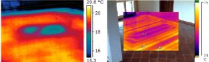 La termografia come tecnica per rilevare difetti negli impianti radianti