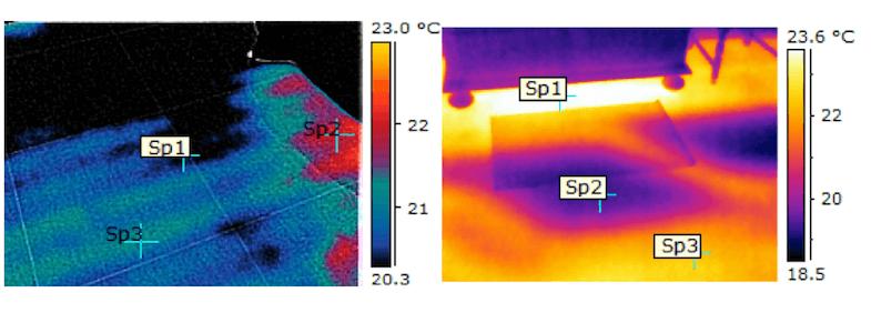 Termografia impianti radianti 1 -2