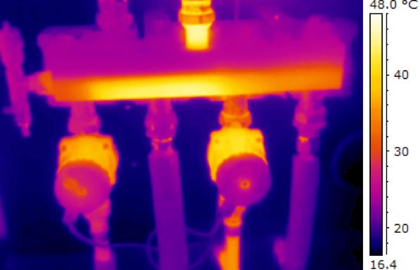 termografia impianti di riscaldamento vantaggi single