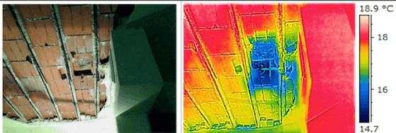termografia perdita impianto di riscaldamento