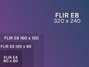 Termocamere FLIR  EX Risoluzione