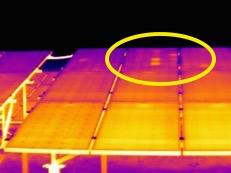 Termografia Impianto Fotovoltaico con termocamera FLIR T420bx