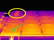 Termografia Impianto Fotovoltaico con termocamera FLIR T420bx img 2