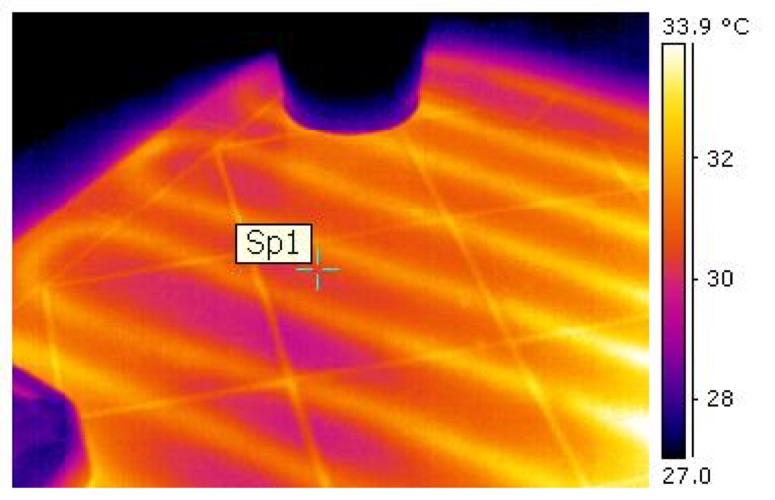 Termografia Edile - Applicazioni Individuare le tubazioni sotto pavimento