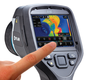 Termocamere serie Ebx - Touchscreen