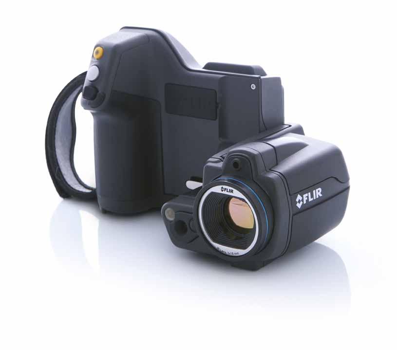 Termocamera FLIR T420bx Frontale