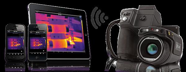 Termocamera FLIR T440bx con Wifi