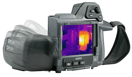 Termocamera FLIR E60bx con orientamento automatico