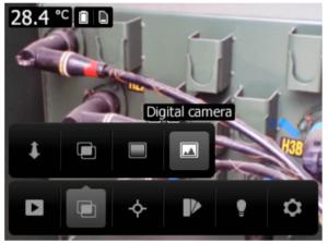 FLIR C2 Modalità immagine Visibile