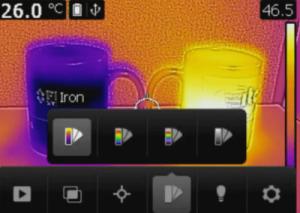 FLIR C2 tavolozza colori - Ferro