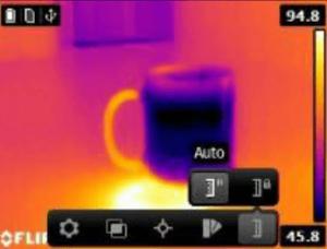 Termocamera economica scala temperature