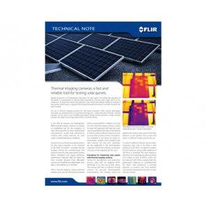 Termografia per il collaudo degli impianti solari