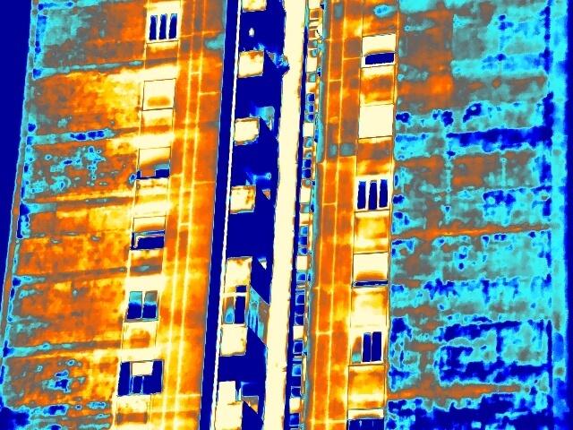 Termografia Milano - DIstacco - clinker