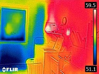 FLIR C3 infiltrazioni aria