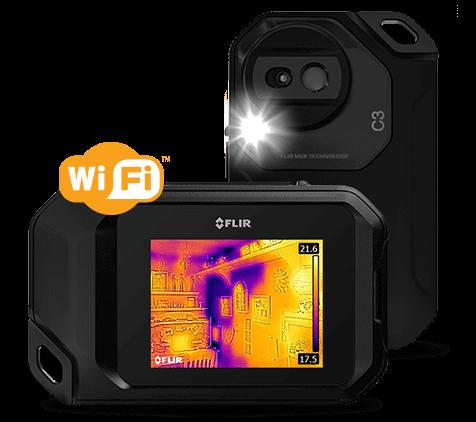Termocamera FLIR C3 wi-fi