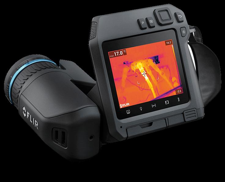 FLIR T530 termocamera front.