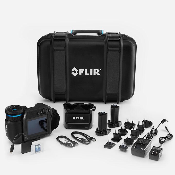 FLIR T530 - FLIR T540 - Contenuto confezione