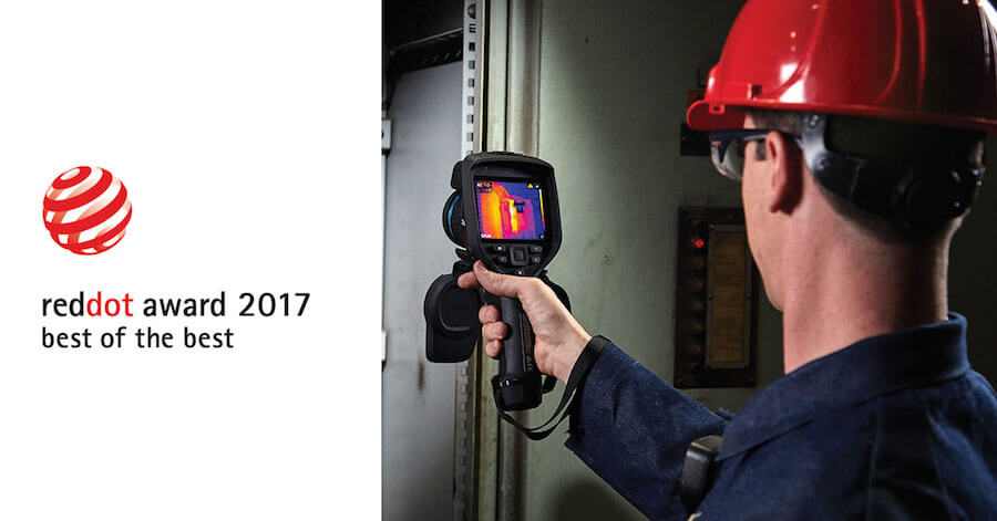Termocamera E75 - E85- E95 premiate per il design