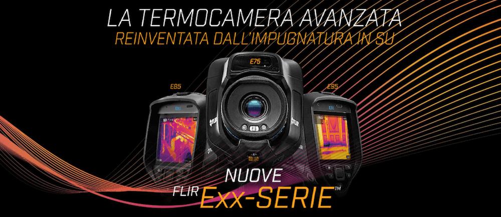 Termocamere FLIR E75 - E85 - E95 Prezzo, caratteristiche e novità