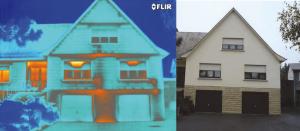 La termografia e i difetti di isolamento - dispersioni casa