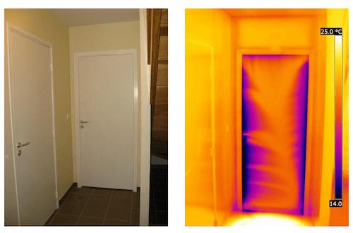 Termocamera e fotocamera del visibile