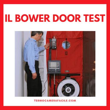 Blower door test - tecnica di diagnosi non distruttiva degli edifici
