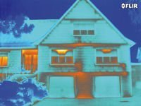 Esempio Termografia edificio - tecnica di diagnosi non distruttiva degli edifici