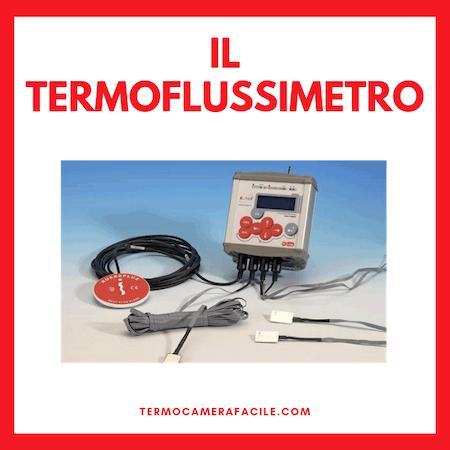 Termoflussimetro - tecnica di diagnosi non distruttiva degli edifici
