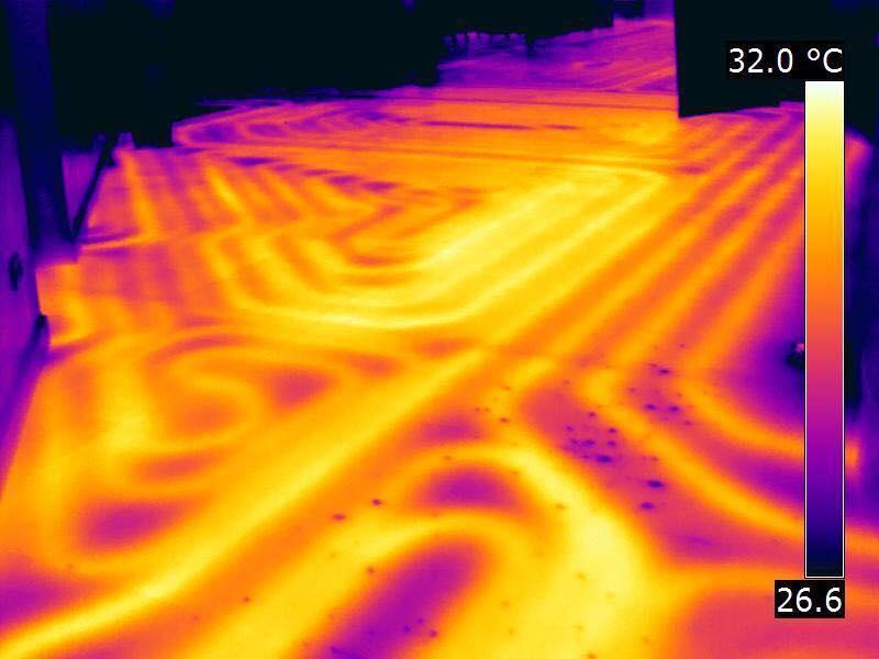 Termografia qualitativa - impianto riscaldamento