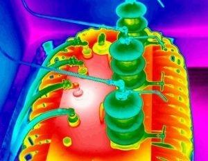 Termografia quantitativa - trasformatore a olio