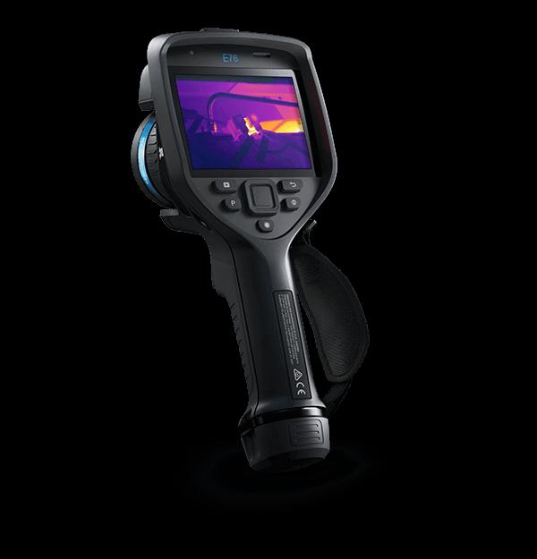 Termocamera FLIR E76 per setotre edile ed elettrico