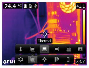 Termocamere FLIR E5XT - E6XT - E8XT - Immagine termica