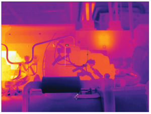 Termocamere FLIR E54 - E76 - E86 - E96 - Immagine termica