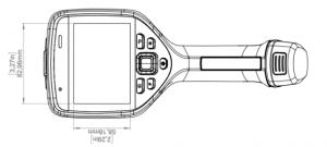 Termocamere FLIR E54 - E76 - E86 - E96 - Dimensioni e peso