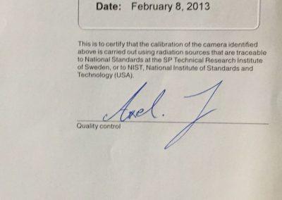 flir t640 usato certificato