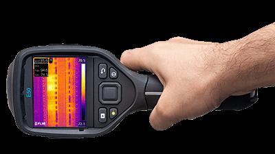 Termocamera FLIR E50bx con orientamento automatico