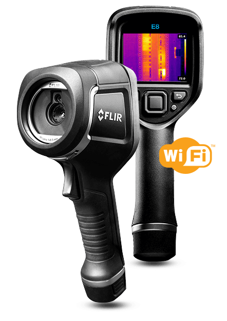 Termocamera FLIR e wi-fi